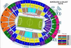 Rose Bowl Soccer Seating Chart International Champions Cup Fc Barcelona Vs La Galaxy In