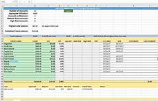 Credit Card Payment Tracker Credit Card Utilization Tracking Spreadsheet Credit Warriors