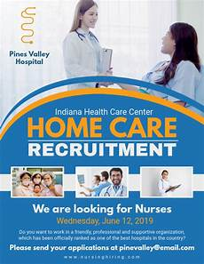 Home Care Flyer Home Care Recruitment Flyer Template Postermywall