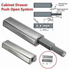 cabinet push open catch touch latch magnetic tip der