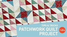 patchwork quilt project points every time