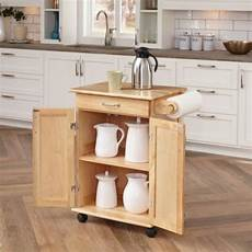 small kitchen island table rolling wheeled solid
