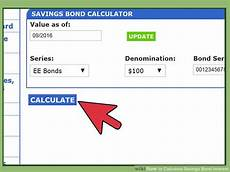 Bond Interest Expense Calculator How To Calculate Savings Bond Interest 14 Steps With