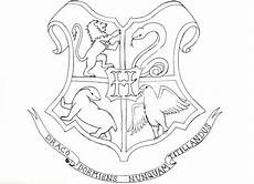 Harry Potter Wappen Malvorlagen Gryffindor Crest Coloring Pages At Getcolorings Free