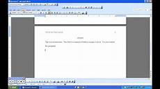 Header Templates For Word How To Make A Template For Apa Format In Word 2003 Youtube