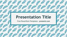 Feather Powerpoint Template Free Feathers Pattern Powerpoint Template Prezentr Ppt
