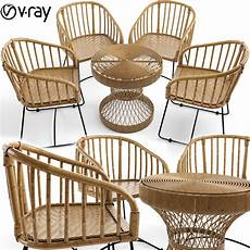 Wicker Rattan Sofa 3d Image by Wicker Rattan Furniture Is Woven Safavieh 3d Cgtrader
