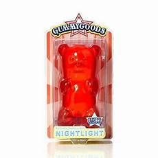 Red Gummy Bear Night Light Gummygoods Gummy Bear Nightlight Red