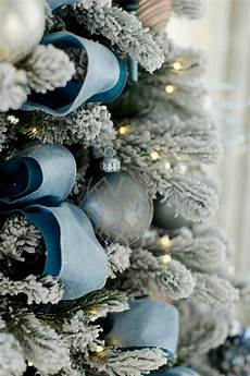 Blue Tree Design Blue Christmas Decorating Ideas A Tour Of Our Home