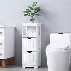 ktaxon bathroom cabinet 2 drawers free standing floor