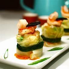 gourmet shrimp appetizers black garlic shrimp dumplings