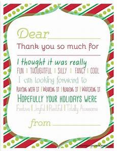 Printable Christmas Note Cards Christmas Printable Thank You Cards For Kids