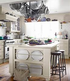 kitchen island with pot rack 30 attractive kitchen island designs for remodeling your