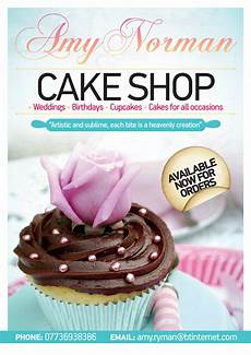 Cake Poster Design Layout Design Z