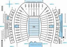 Unc Kenan Stadium Seating Chart Acc Football Stadium Seating Charts College Gridirons