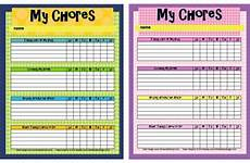 Children S Job Chart Free Printable Chore Charts For Kids Fab N Free