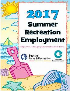 Summer Employment Parkways Seattle Parks And Recreation News And Events