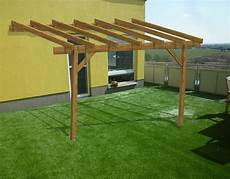 tettoia addossata tettoia copertura in legno doubleeasy economica addossata