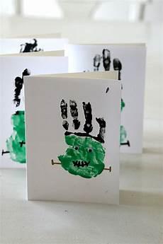frankenstein handprints craft easy
