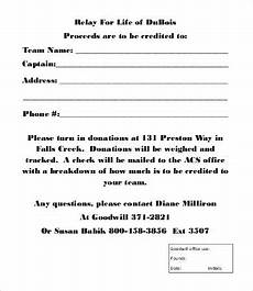 Donation Form Template Donation Form Template 8 Free Word Pdf Documents