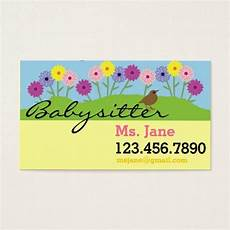 How To Make Babysitting Cards Simple Babysitter Nanny Business Card Zazzle Com