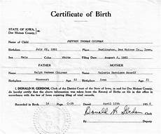 Birth Certificate Example 21 Free Birth Certificate Template Word Excel Formats