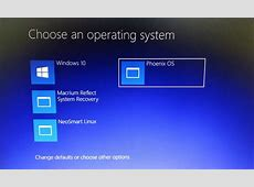 How to install Phoenix OS  Android OS for PC on Windows 10