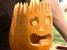 Skinny Pumpkin Designs Halloween Pumpkin Carving Electro Jack O Lantern How
