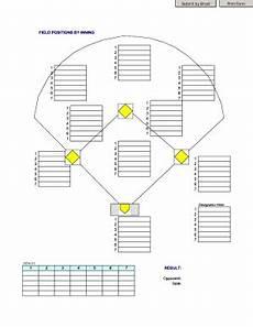 Baseball Position Template Baseball Position Sheet Printable Form Templates To