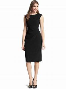crepe dress ruched bodycon work office dress