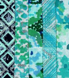jelly roll cotton fabric pack 2 5 x42 teal joann