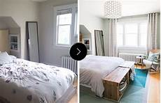before after a stylish bedroom on a budget in toronto