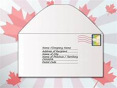 Address Letters Addressing A Letter To Canada Letter