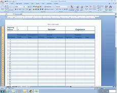 Income Expense Excel Template Income And Expense Register Excel Spreadsheet Template