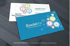 Social Media Business Card 3 Social Media Business Cards Business Card Templates