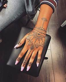 Tribal Designs For Women S Hands Pin By Ba Bing On Tat Henna Hand Cute Hand
