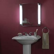 Bathroom Mirror Side Lights Beside The Mirror Lighting Lighted Medicine Cabinet