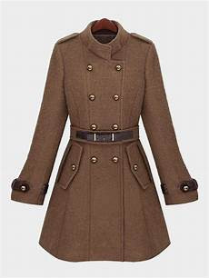 belts for trench coats brown breasted belt trench coat us 63 95 yoins