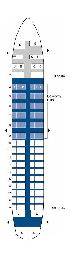 United Airlines Boeing 737 Seating Chart Airlines Seating Charts Seat Maps B737 Information