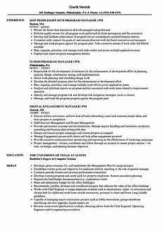 Pm Resumes Manager Pm Resume Samples Velvet Jobs