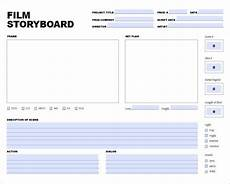Video Project Template 8 Movie Storyboard Templates Doc Excel Pdf Ppt