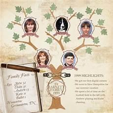 Family Tree Scrapbook Templates Digital Scrapbooking Kit Scrapsimple Embellishment