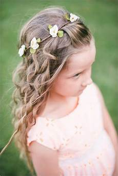 38 super cute little girl hairstyles for wedding little