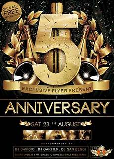 Great Flyers Great Anniversary V05 Premium Flyer Template Facebook Cover