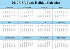 Us Calendars Us Holidays Calendar 2019 Free To Print