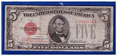 Silver Certificate Dollar Bill Value Chart 1928c 5 Dollar Bill Old Us Note Tender Paper Money