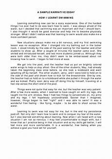 Narrative Essay Thesis Examples Dewisukur Writing Is A About Remembering