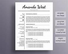 Modern Professional Resume Template Resume Template Modern Resume Template Professional