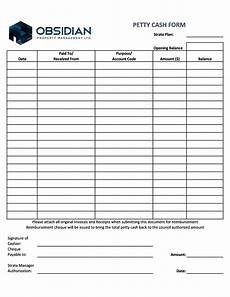 Petty Cash Reimbursement 40 Petty Cash Log Templates Amp Forms Excel Pdf Word ᐅ
