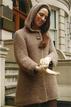 hooded swing jacket knitting pattern halcyon yarn
